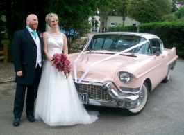 American Cadillac for weddings in Guildford